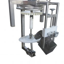 Hock Feet Cutter - 90 or 180 degrees machine to automatically cut the hock or feet of the bird