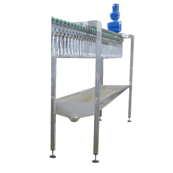 Poultry Bleeding Line with trough