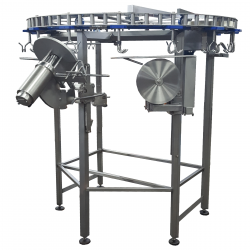 Semi- and Full Automatic Cut-up Line for portioning poultry